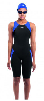 Aquafeel Wettkampf Anzug schwarz/blau