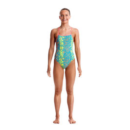 Funkita Girls Strapped In One Piece Second Skin Badeanzug