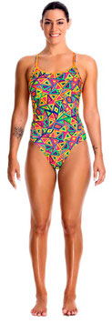 Funkita Badeanzug Crazy Crayon Diamond Back (Girls)