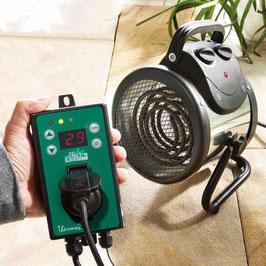 Gewächshausheizung Palma mit Digital Thermostat