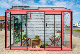 ACD Anlehngewächshaus Glas Miccolo 4