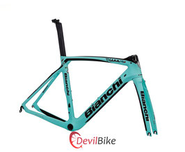 BIANCHI OLTRE XR4 COUNTERVAIL FRAME SET