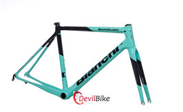 BIANCHI SPECIALISSIMA COUNTERVAIL FRAME SET