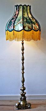 Antiek koperen lampvoet