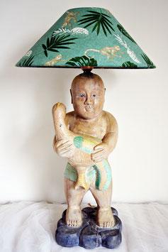 Lamp Asian boy