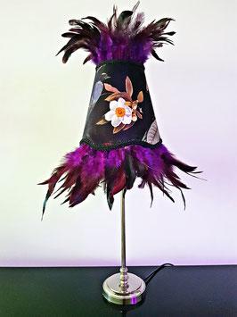 Lamp Plume Violette