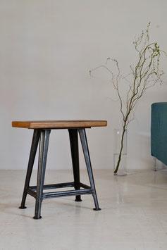 Iron leg stool (SOLD)
