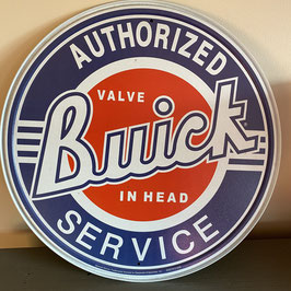 Plaque ronde Buick