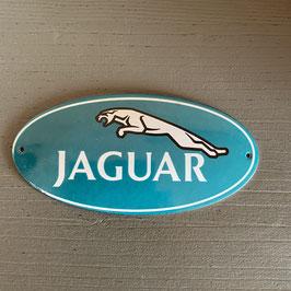 Plaque émaillée Jaguar