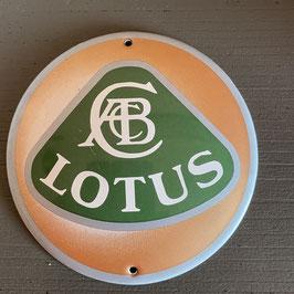 Plaque émaillée Lotus