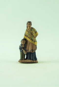 Ref.:0303 Pastora con niño