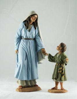 Ref.:2427 Pastora con niño
