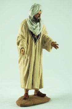 Ref.:1232 Mercader turbante blanco