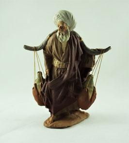 Ref.:1231 Anciano portando cantaros
