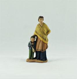 Ref.:0722 Pastora con niño