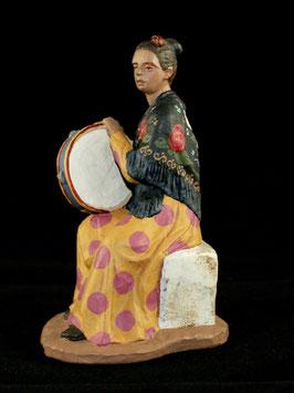 Ref.:1429 Flamenca con pandero