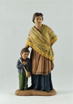 Ref.:1432 Flamenca con niño