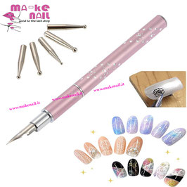 NEW PENNA STILOGRAFICA NAIL ART +  DOTTING