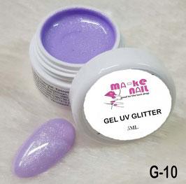 GEL UV GLITTER G-10