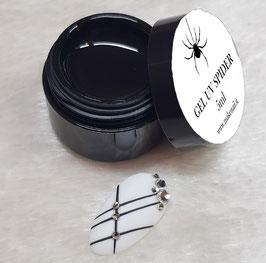 GEL UV SPIDER 5ML BLACK