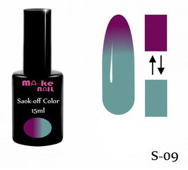 SOAK-OFF COLOR 15ML  (S-09)
