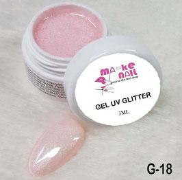 GEL UV GLITTER G-18