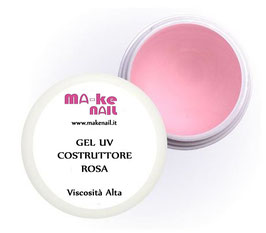 "GEL UV COSTRUTTORE ""ROSA"" 15 ML"