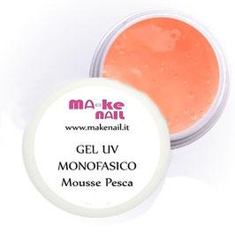 "GEL UV MONOFASICO ""MOUSSE PESCA"" 15 ML"