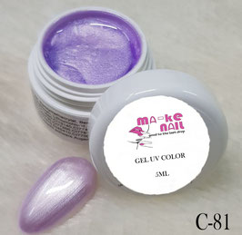GEL UV COLORATO C-81
