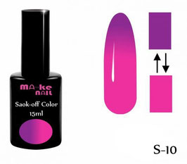 SOAK-OFF COLOR 15ML  (S-10)