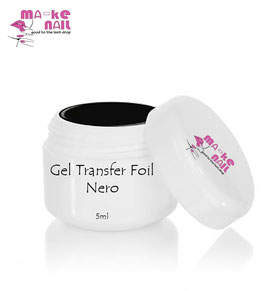 GEL TRANSFER FOIL NERO 5ML