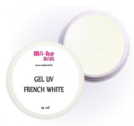 GEL UV FRENCH WHITE 15 ML