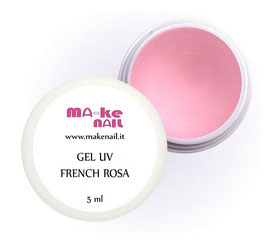GEL UV FRENCH ROSA 5 ML