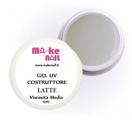 "GEL UV COSTRUTTORE ""LATTE"" 15 ML"