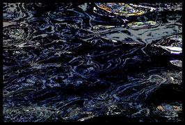 Leinwandbild, fremde Galaxien, Motiv: 2927 in einem Massivholzrahmen