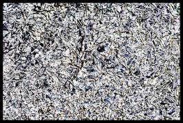 Leinwandbild zersplittert 1021c in einem Rahmen mit Schattenfuge