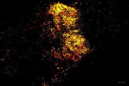Leinwandbild, Sternenstaub, Motiv: 9543 auf einen Trägerrahmen gespannt