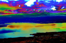 Leinwandbild, nicht von dieser Welt, Motiv: 9041, auf einen Trägerrahmen gespannt