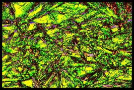 Leinwandbild zersplittert 0939 in einem Massivholzrahmen