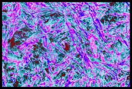 Leinwandbild zersplittert 1005b in einem Rahmen mit Schattenfuge