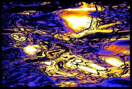 Leinwandbild, fremde Galaxien, Motiv: 2925 in einem Rahmen mit Schattenfuge