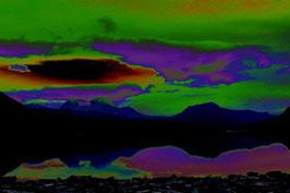 Leinwandbild, nicht von dieser Welt, Motiv: 2268, auf einen Trägerrahmen gespannt
