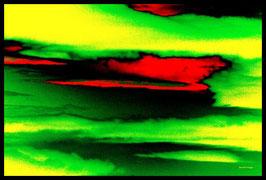 Leinwandbild, Sternenstaub, Motiv: 9337 in einem Rahmen mit Schattenfuge