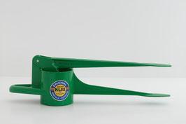 Spätzlefix (unregelmäßige Lochform) grün glänzend