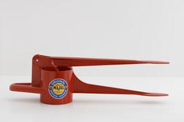 Spätzlefix (unregelmäßige Lochform) rot glänzend