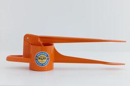 Spätzlefix (unregelmäßige Lochform) orange
