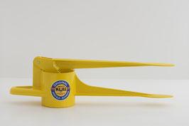 Spätzlefix (unregelmäßige Lochform) gelb glänzend