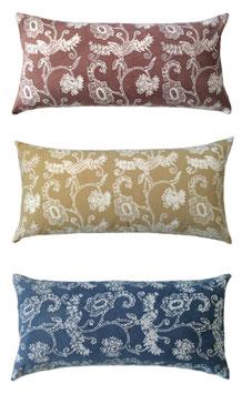Sunflower Natural Dye Lumbar Pillows