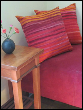 Stripe Batik - Red/Orange/Yellow