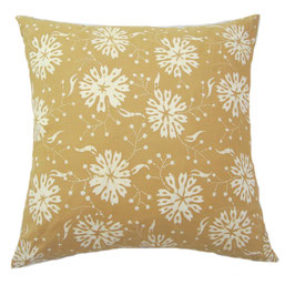 Floral Pop Natural Dye Pillow